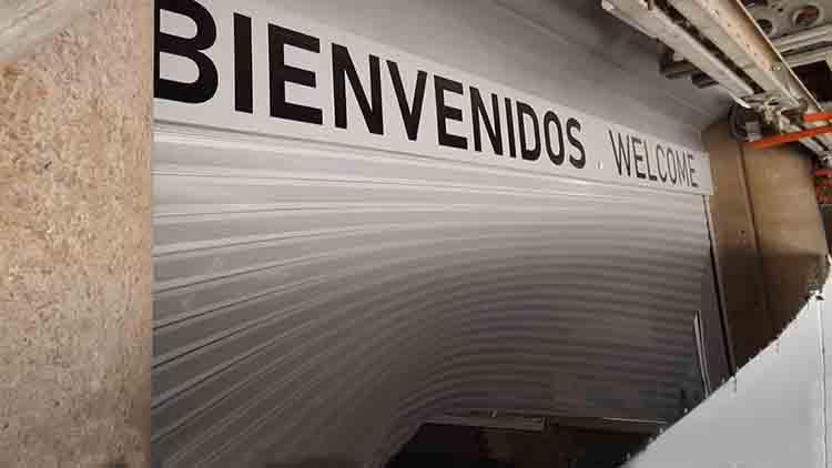 Robo con alunizaje en la tienda del Real Madrid del Santiago Bernabéu